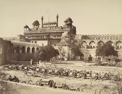 Lahore Gate of the Palace, Delhi